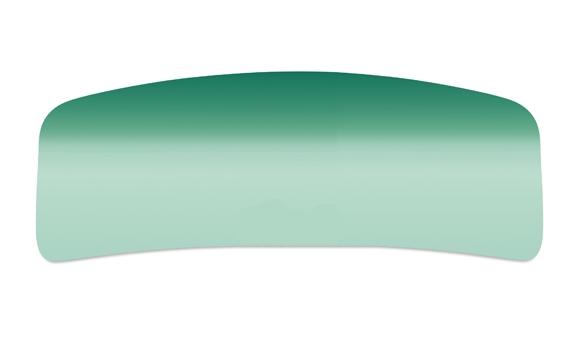 Windscreen green convertible with glare strip