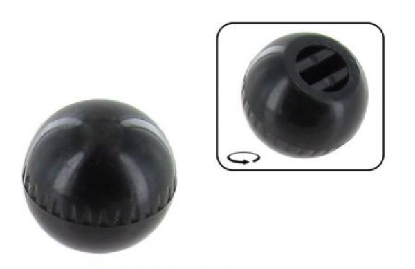 Schieberegler Heizung schwarz Bild 1