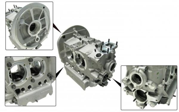 Motorgehäuse 69mm Kurbelwelle / 97mm Zylinderbohrung Bild 1
