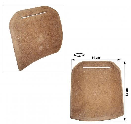 Polsterung Rückenlehne vorne mit fester Kopfstütze 8/73»7/76 Bild 1