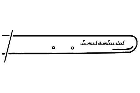 Stoßstange Vorne Chrom A-Qualität Bild 1