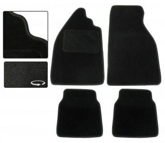 Fußmatten Set Teppich schwarz Bild 1