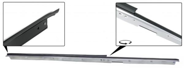Fensterdichtung vorne rechts außen mit Zierleiste Cabrio Bild 1