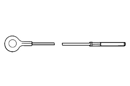 Gaszug Innen RHD Bild 1