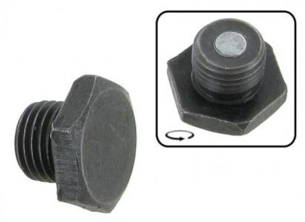 Ölablassschraube magnetisch schwarz Bild 1