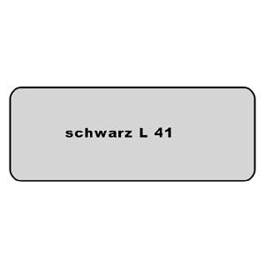 Farb-Code Aufkleber L 41 Schwarz Bild 1