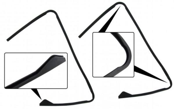 Dreiecksfenster Scheibendichtung Bild 1
