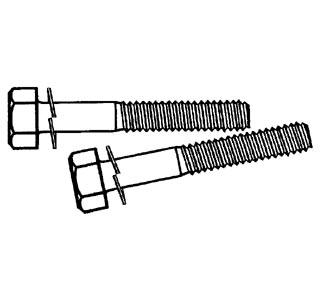 Schrauben Vorderachse Standard Bild 1