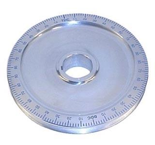 Riemenscheibe Standard Aluminium blau Bild 1