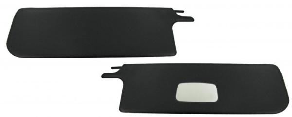 Sonnenblende schwarz mit Spiegel Bild 1