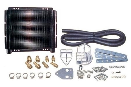 Ölkühler Set Hochleistungs-Kit 72 Platten Bild 1