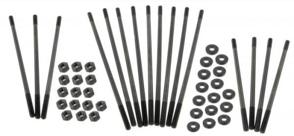 Zylinderstehbolzen Set M10 extra lang / Chrom Molybdän Bild 1