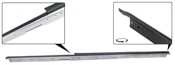 Fensterdichtung vorne links außen mit Zierleiste Cabrio Bild 1
