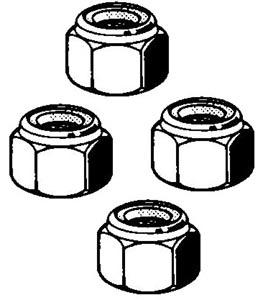 Mutter Spurstange selbstsichernd M10x1.5 Bild 1