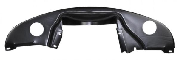 Motorblech hinten schwarz Bild 1