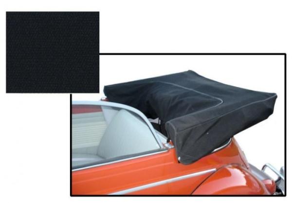 Canopy tarpaulin linen black
