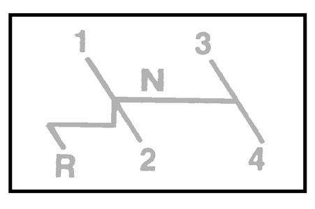 Ersatzsticker Gangschaltung Bild 1