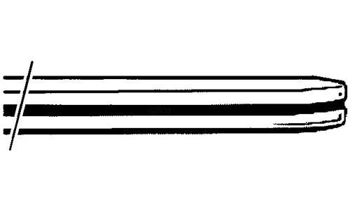 Stoßstange Hinten Stahl unlackiert Bild 1