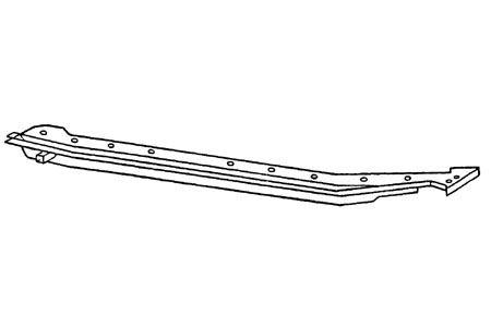 Cabrioholm rechts A-Qualität 1200 / 1300 / 1500 Bild 1
