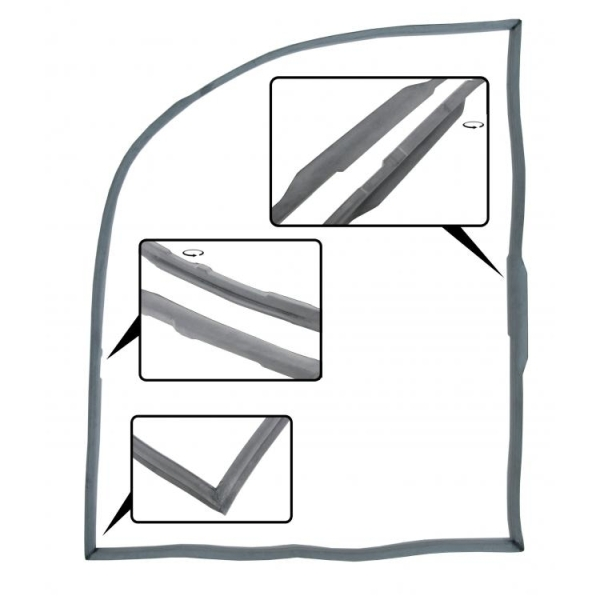 Türdichtungen A-Qualität rechts Bild 1