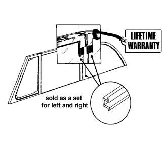 Dichtungsset Seitenscheiben Cabrio Bild 1