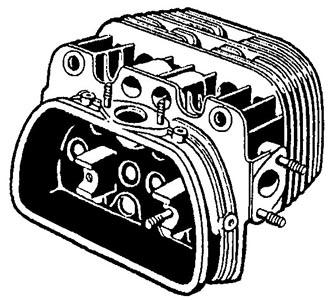 Zylinderkopf 30PS Bild 1