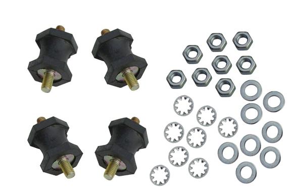 Rubber Bearings Oil Cooler Assembly