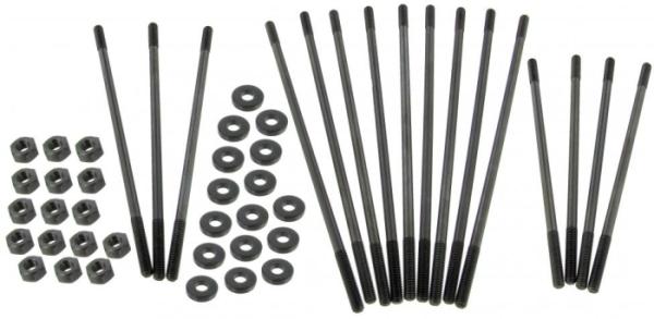 Zylinderstehbolzen Set M8 extra lang / Chrom Molybdän Bild 1