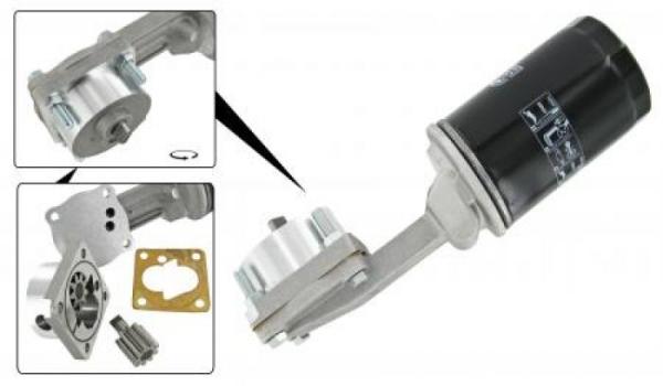 Ölpumpe Hochleistung mit Filter 1200 |1300 | 1500 | 1600 Bild 1