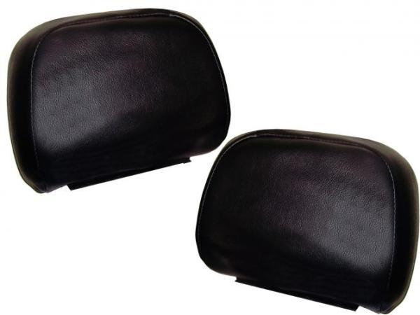 Bezüge Kopfstützen schwarz Bild 1