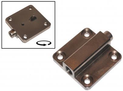 Deckel für Ölpumpe mit Überdruckventil Bild 1