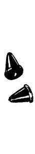 Rubber stops Glove box / fuel tank cap