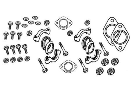 Montagesatz Auspuff Bild 1