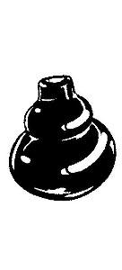 Schalthebel Manschette schwarz Bild 1