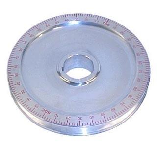 Riemenscheibe Standard Aluminium rot Bild 1