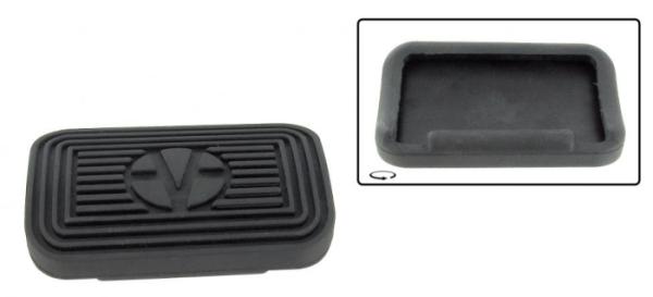 Gummi Bremspedal Automatikgetriebe 8/70» Bild 1