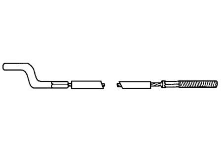 Gaszug Innen / Außen LHD Bild 1