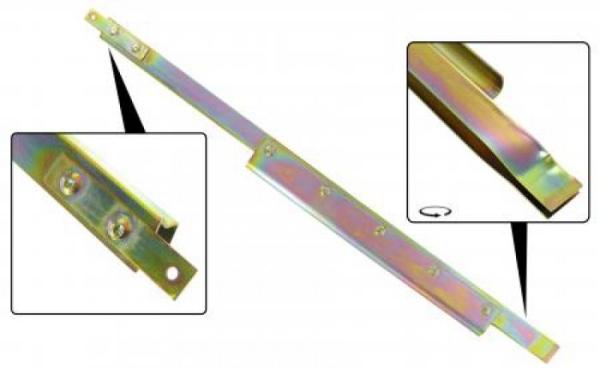 Hebeschiene Seitenscheibe hinten links Cabrio Bild 1
